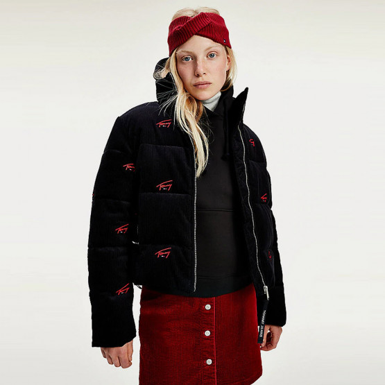 Tommy Jeans Critter Cord Women's Puffa Jacket