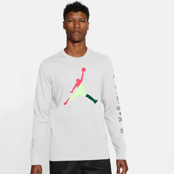Jordan Spirit DNA Ανδρική Μακρυμάνικη Μπλούζα