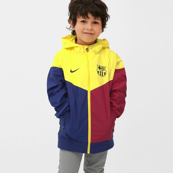 Nike FC Barcelona Windrunner Παιδικό Αντιανεμικό