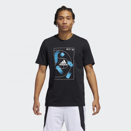 Adidas Motion Offense Tee Ανδρικό T-Shirt