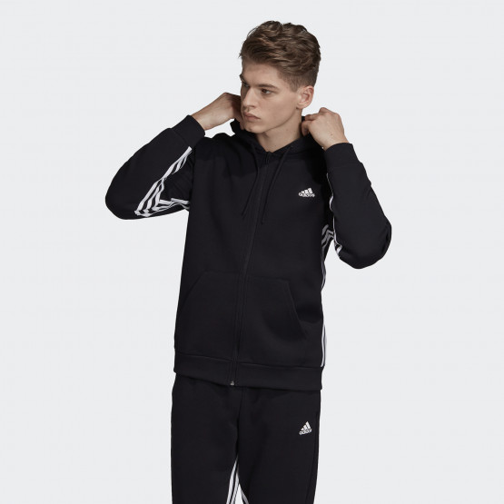 adidas Performance Must Haves 3-Stripes Ανδρική Ζακέτα