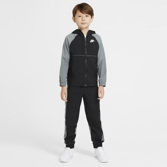 Nike Sportswear Woven Παιδικό Σετ Φόρμας