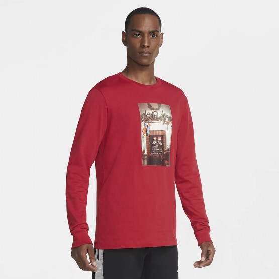 Jordan Jumpman Chimney Crew Men's Long-sleeve Shirt