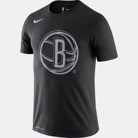 Nike NBA Brooklyn Nets Logo Dri-FIT Ανδρικό T-Shirt