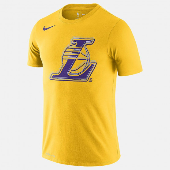 Nike NBA Los Angeles Lakers Logo Dri-FIT Ανδρικό T-Shirt