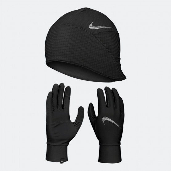 Nike Essential Running Set Hat And Gloves