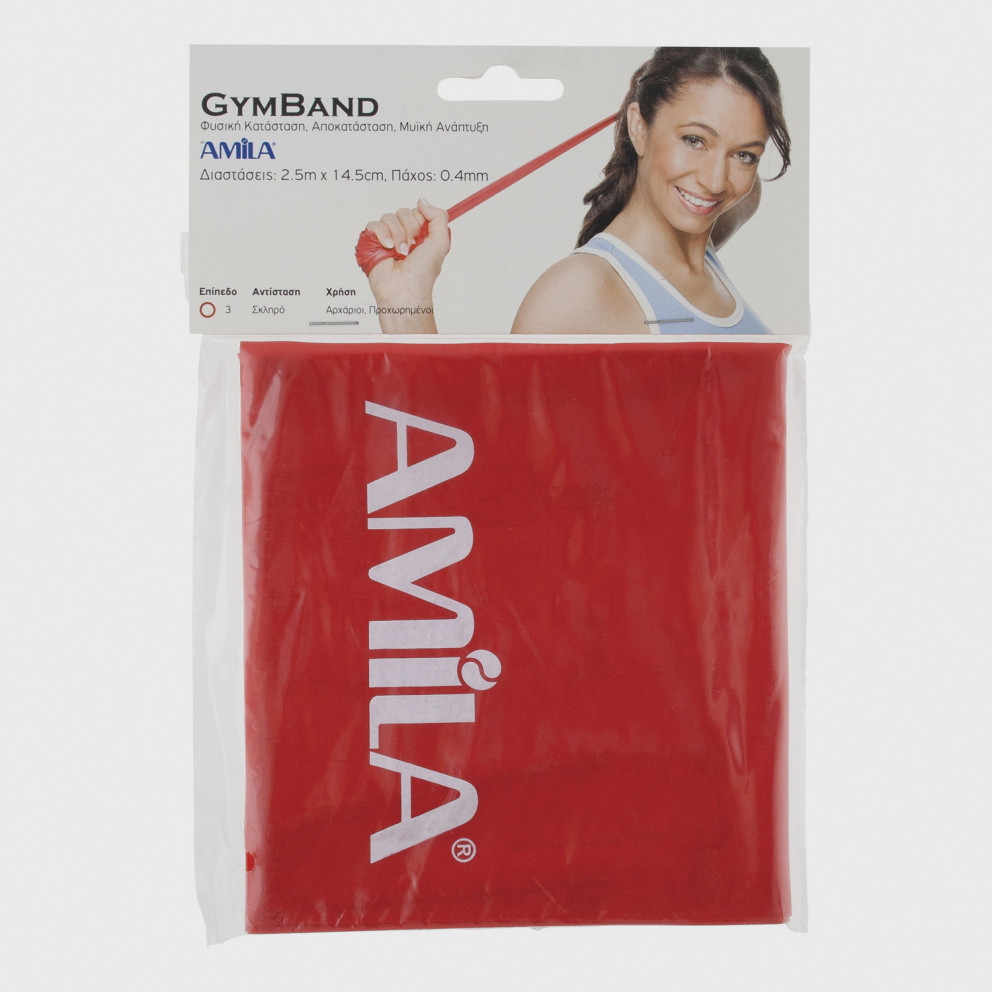 Amila Λάστιχο Gymband Medium 120 x 0.04 cm