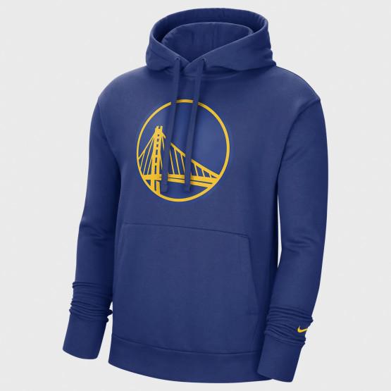 Nike NBA Golden State Warriors Essential Ανδρική Μπλούζα με Κουκούλα