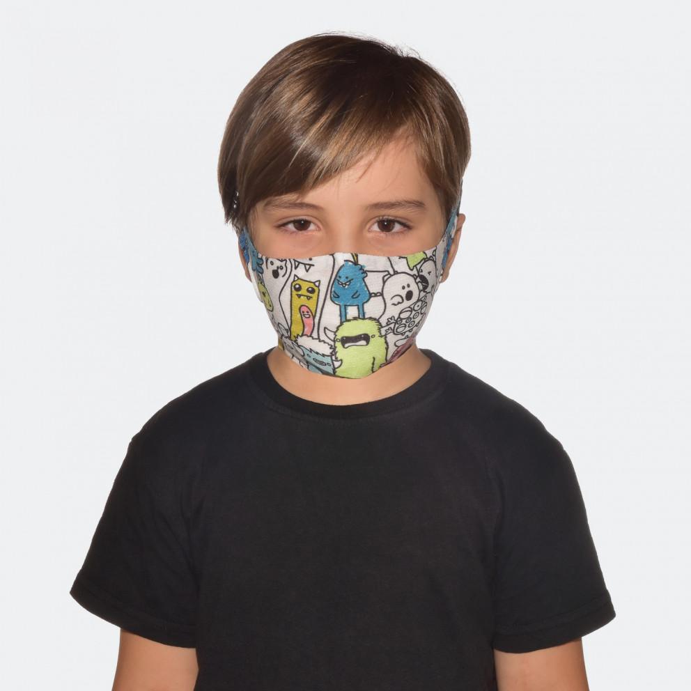 Buff Filter Boo Multi Επαναχρησιμοποιούμενη Παιδική Μάσκα Προσώπου
