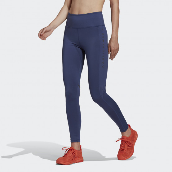 adidas Performance Parley Karlie Kloss Mesh High-Waist Long Tights Γυναικείο Κολάν