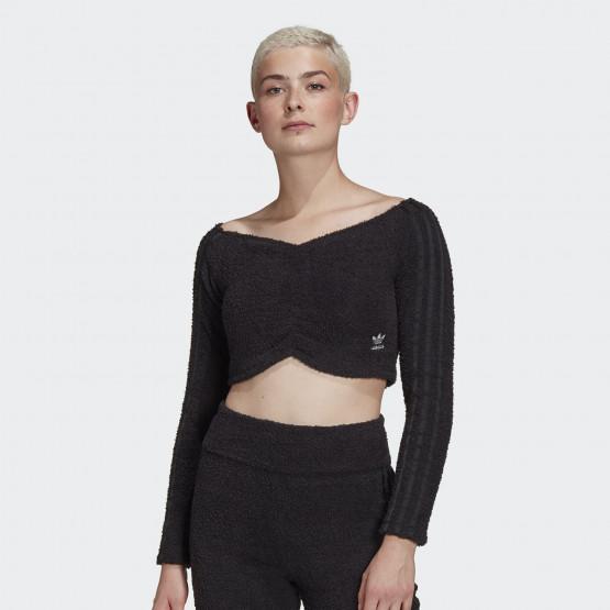 adidas Originals Crop Top Women's Long-Sleeve Shirt