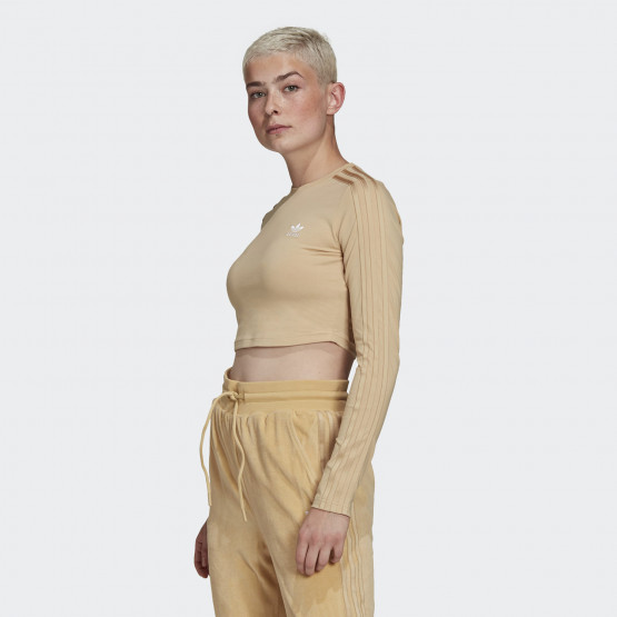 adidas Originals Crop Γυναικεία Μπλούζα