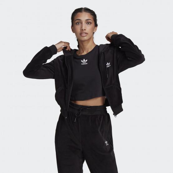 adidas Originals Crop Velour Women's Jacket