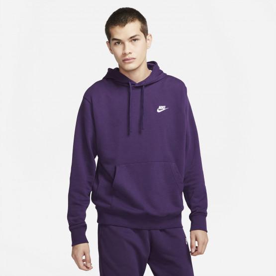 Nike Sportwear Club Ανδρική Μπλούζα με Κουκούλα