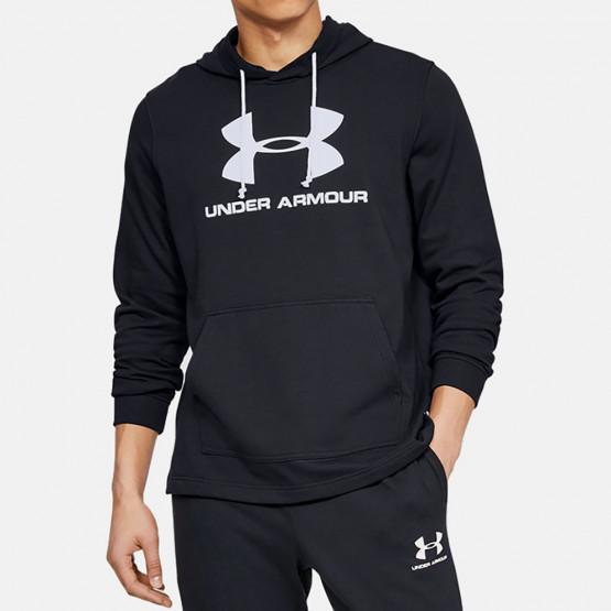 Under Armour Sportstyle Terry Logo Ανδρική Μπλούζα με Κουκούλα