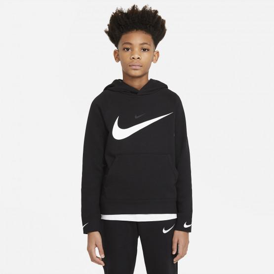Nike Sportswear Swoosh Παιδικό Φούτερ με Κούκουλα