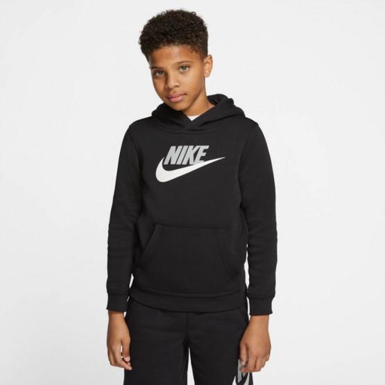 Nike Sportswear Club Big Logo Παιδικό Φούτερ με Κουκούλα