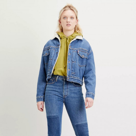 Levi's New Heritage Sherpa Hot Head Women's Denim Jacket