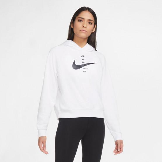 Nike Sportswear Swoosh Γυναικείο Φούτερ με Κουκούλα