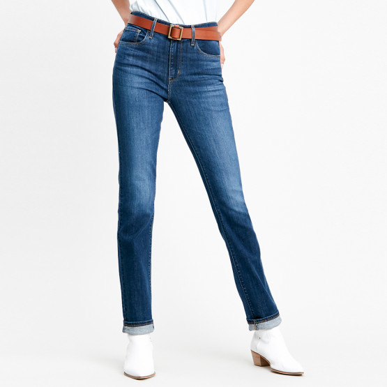 Levi's 724 High Rise Straight Chelsea Carbon Γυναικείο Τζιν