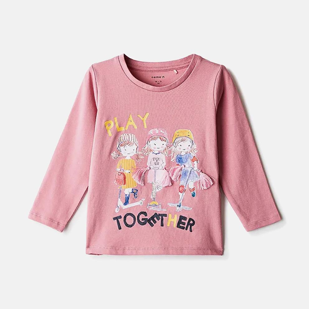 Name it Printed Girls' Long-sleeved T-Shirt