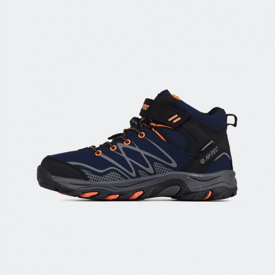 HI-TEC Blackout Mid Waterproof Kids' Hiking Shoes