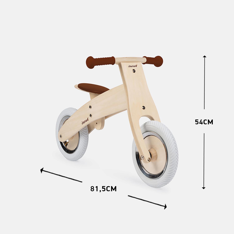 Janod Ξύλινο Παιδικό Ποδήλατο με Αυτοκόλλητα (9000071644_103)
