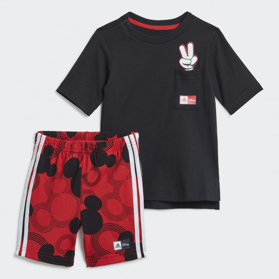 adidas Mickey Mouse Summer Βρεφικό Σετ