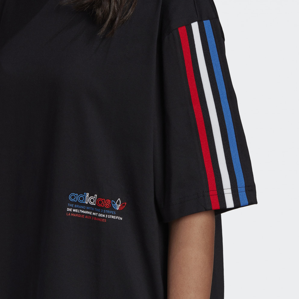 adidas Originals Adicolor Tricolor Oversized Women's T-Shirt