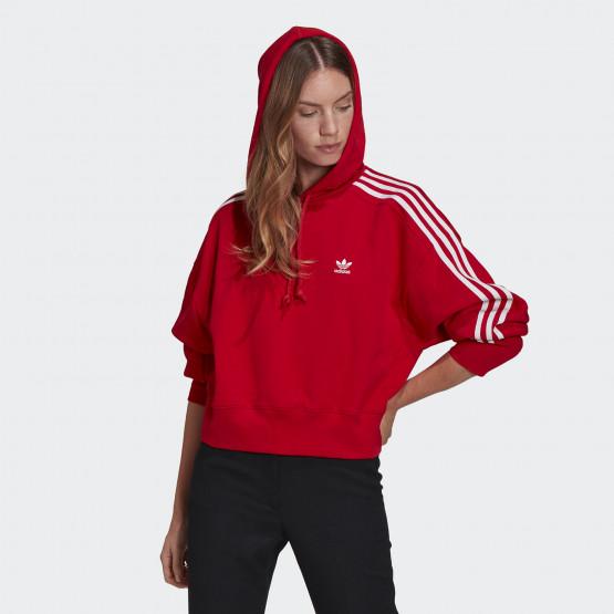 adidas Originals Adicolor Classics Crop Γυναικείο Φούτερ με Κουκούλα