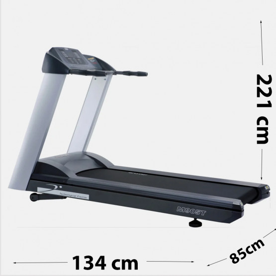 Motus Treadmill Μ905Τ 221 x 85 x 134 cm