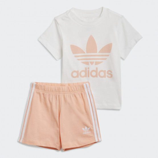 adidas Originals Trefoil Shorts Tee Set Βρεφικό Σετ