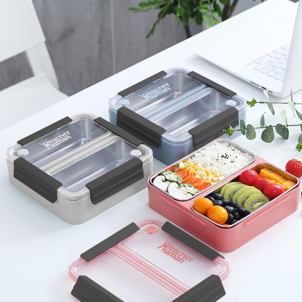 Healthy Human On The Go Bento Box Δοχείο Φαγητού