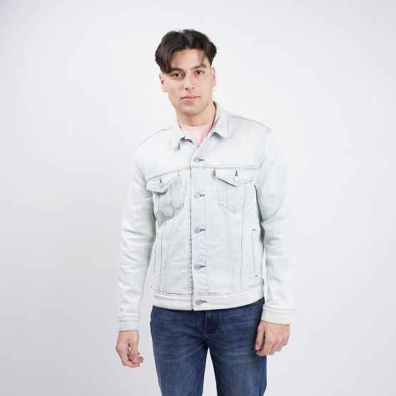 Levis The Trucker Jacket Pale Shade Indigo S