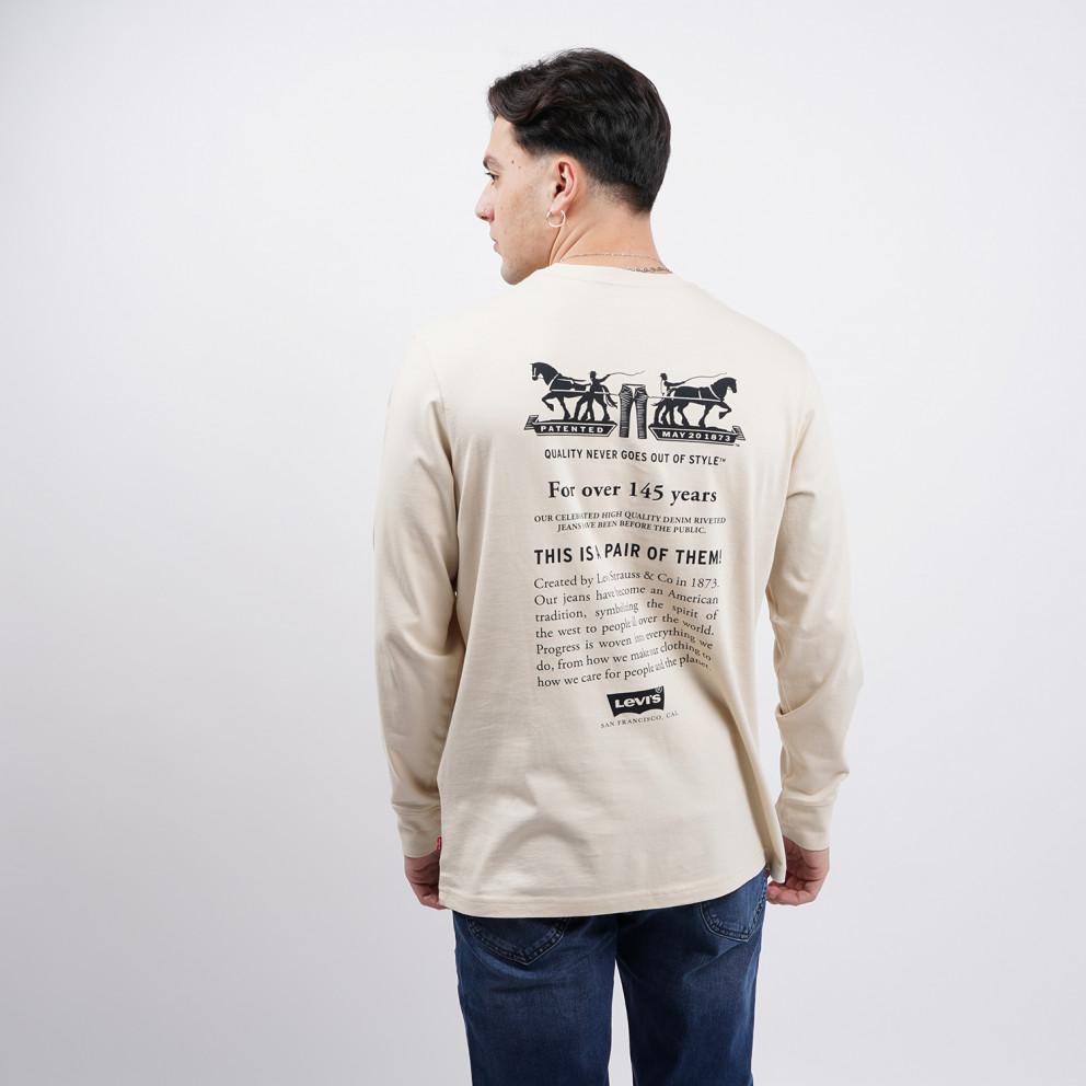 Levi's Relaxed Graphic Ανδρική Μακρυμάνικη Μπλούζα