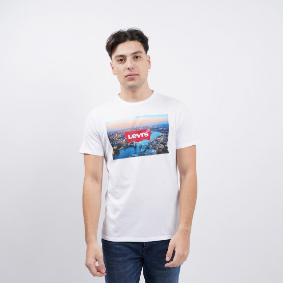Levis Destination Bw T2 London Photo Tee Whit