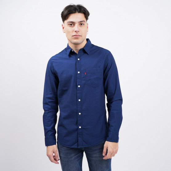 Levis Sunset 1 Pocket Standard Indigo Dobby