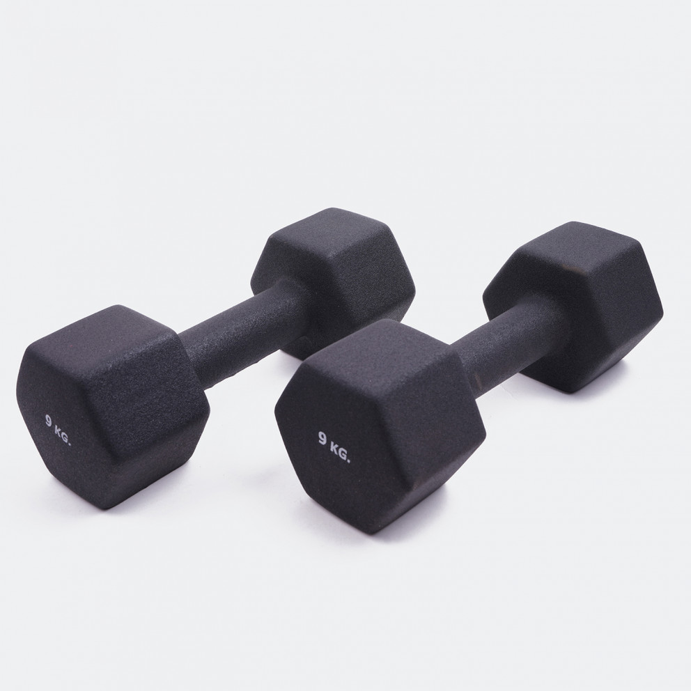 ZEUS Neoprene Dumbbell Βαράκια 2 x 9kg