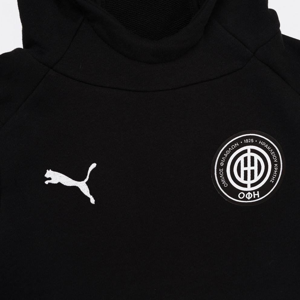 Puma x OFI Crete F.C Liga Παιδική Μπλούζα με Κουκούλα