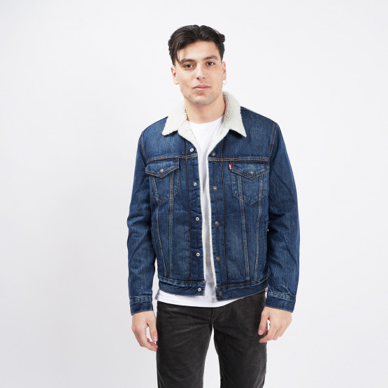 Levis Type 3 Sherpa Trucker Palmer Men's Denim Jacket