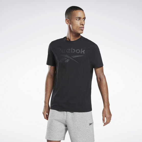 Reebok Sport Graphic Series Stacked Ανδρικό T-Shirt