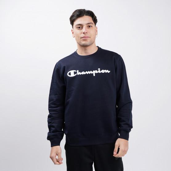 Champion Crewneck Sweatshirt Ανδρική Μακρυμάνικη Μπλούζα