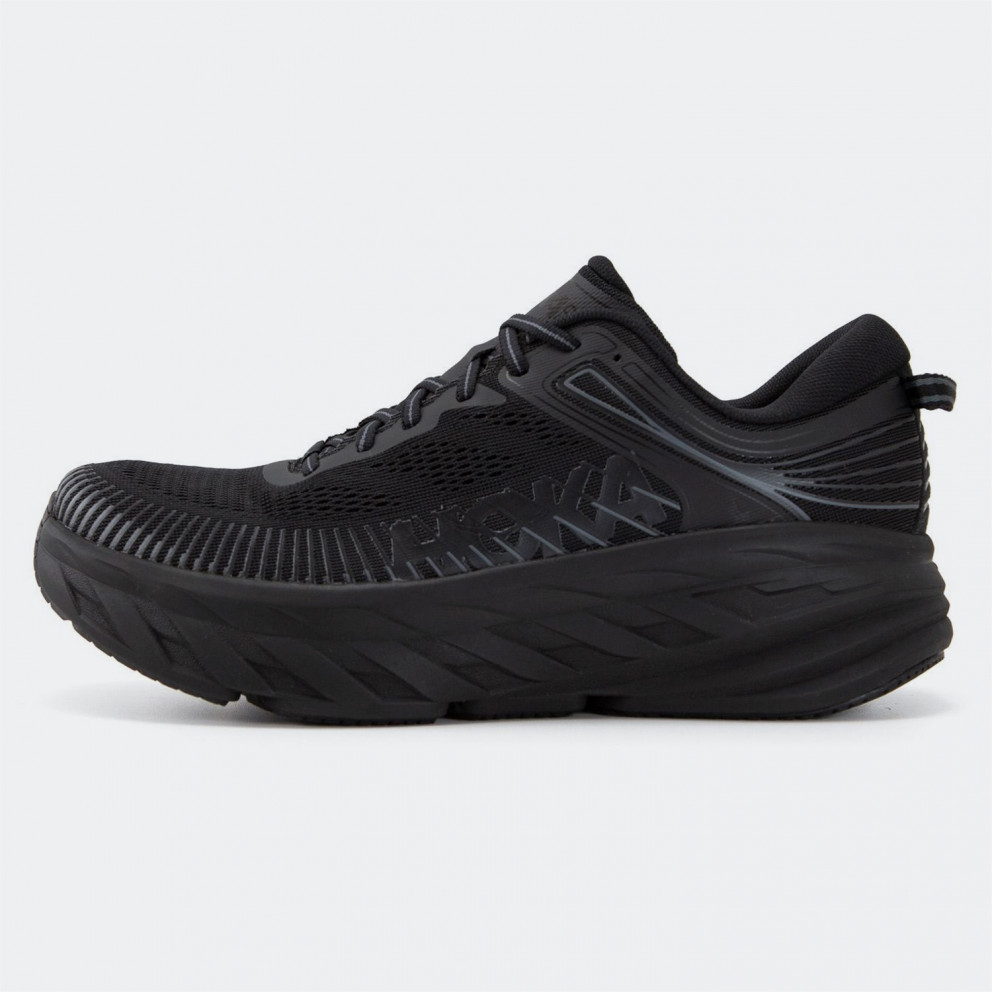 Hoka Glide Bondi 7 Men's Running Shoes Black