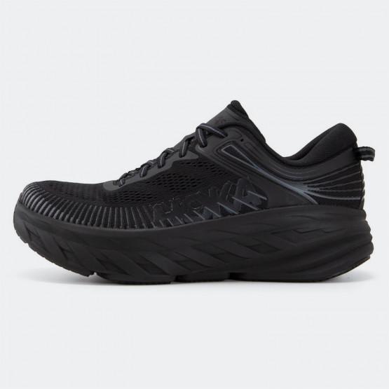 Hoka Glide Bondi 7 Men's Running Shoes Black