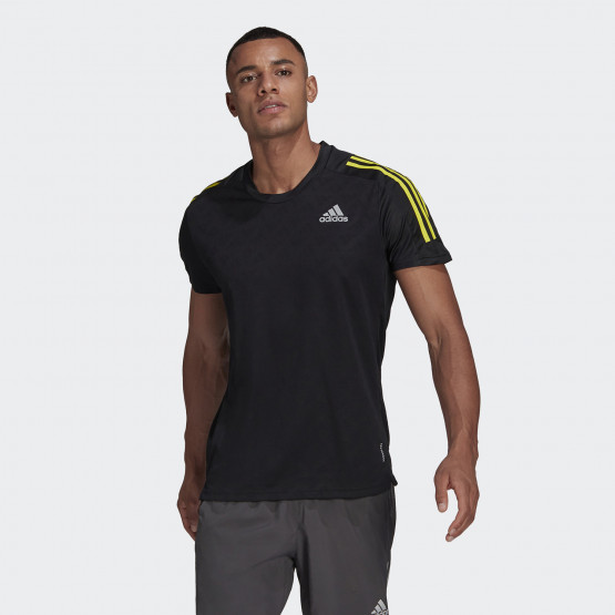 adidas Own The Run Tee 3-Stripes Running Men's T-shirts