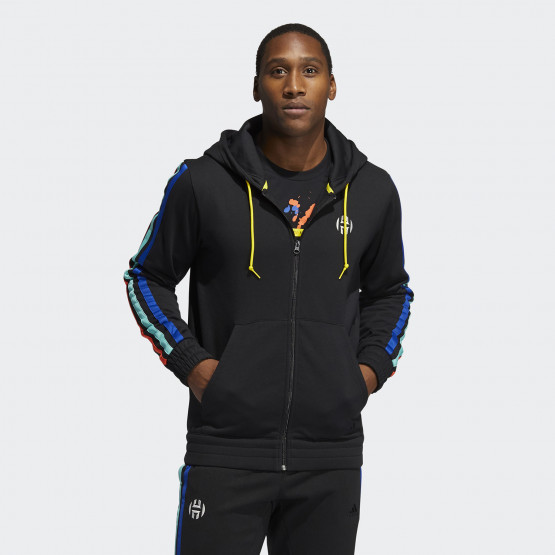 adidas Performance Harden Fleece Full-Zip Jacket Men's Jacket