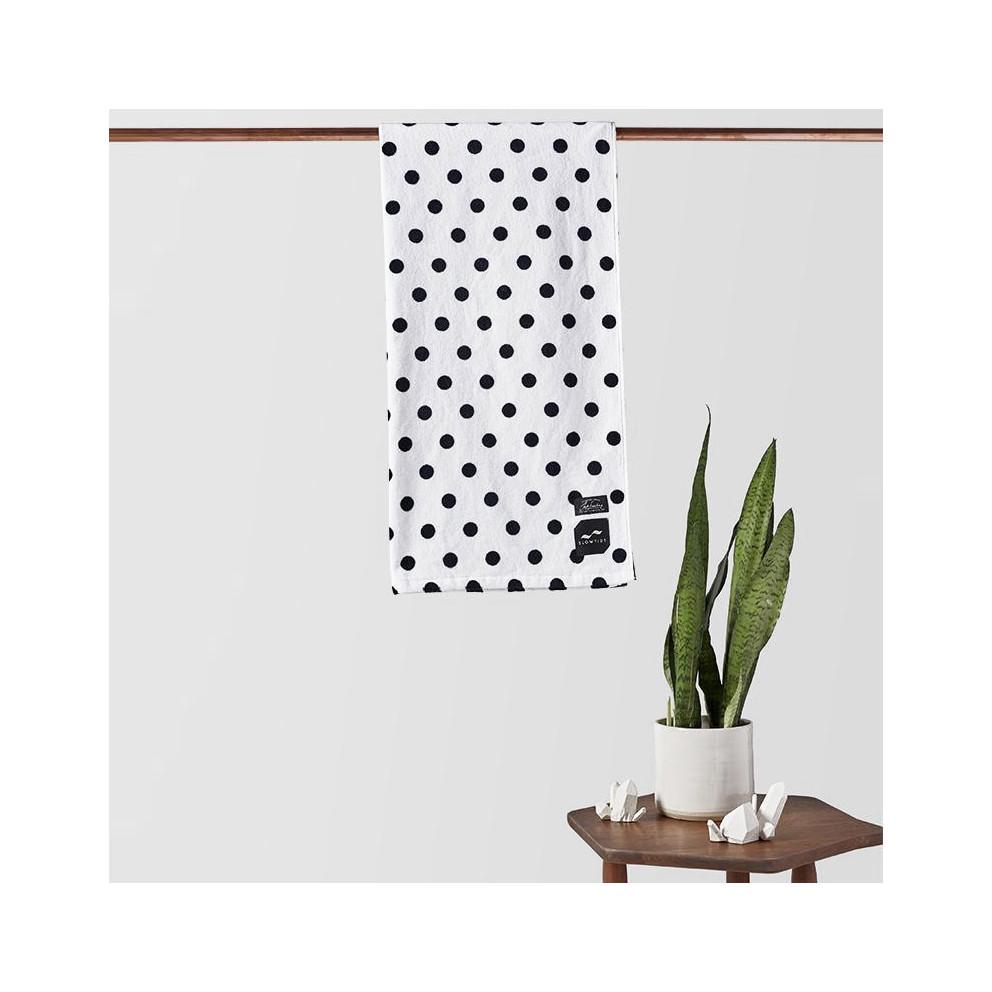 Slowtide Polka Dot Fitness Towel 152 X 076 Cm