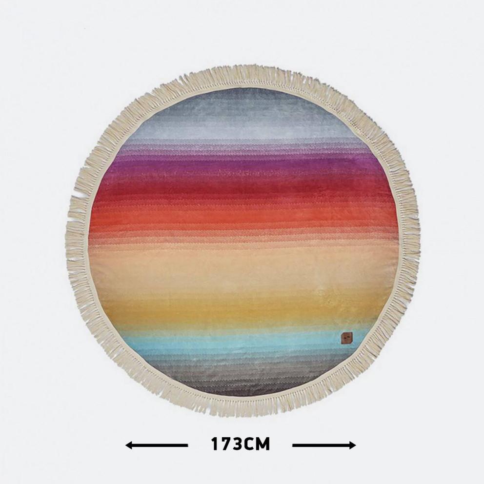 Slowtide Terra Round Towel 173 Cm Ακτίνα