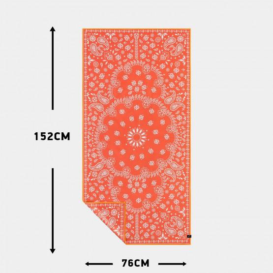 Slowtide Paisley Park Red Travel Towel 152 X 076 Cm