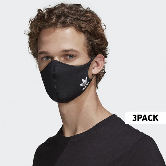 adidas Originals 3-Pack Medium-Large Face Masks